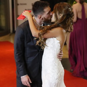 Messi and Antonella celebrate their wedding with a tattoo
