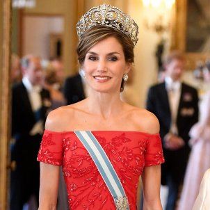 Queen Letizia and the Duchess of Cambridge in a style duel