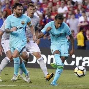 Neymar's idyllic goal gives Barça 1-0 win