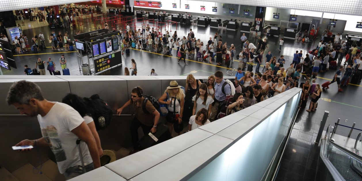 Barcelona's airport only 46,257 passengers short of Madrid's in July
