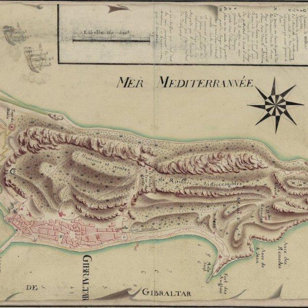 Gibraltar. 1700. Font National Archives Gibraltar Photos