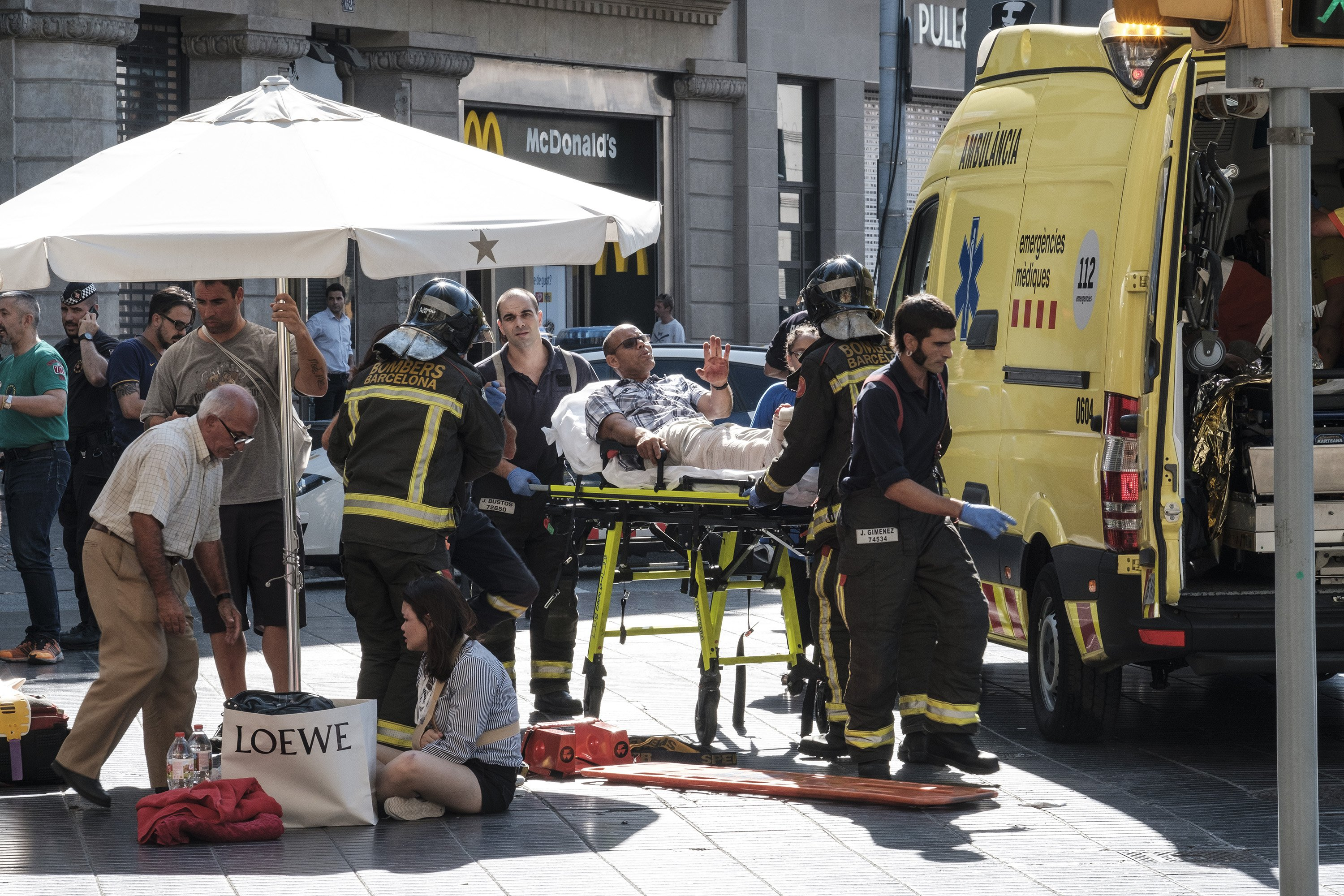 Barcelona attack: the terrorists wanted to use explosives on the Rambla