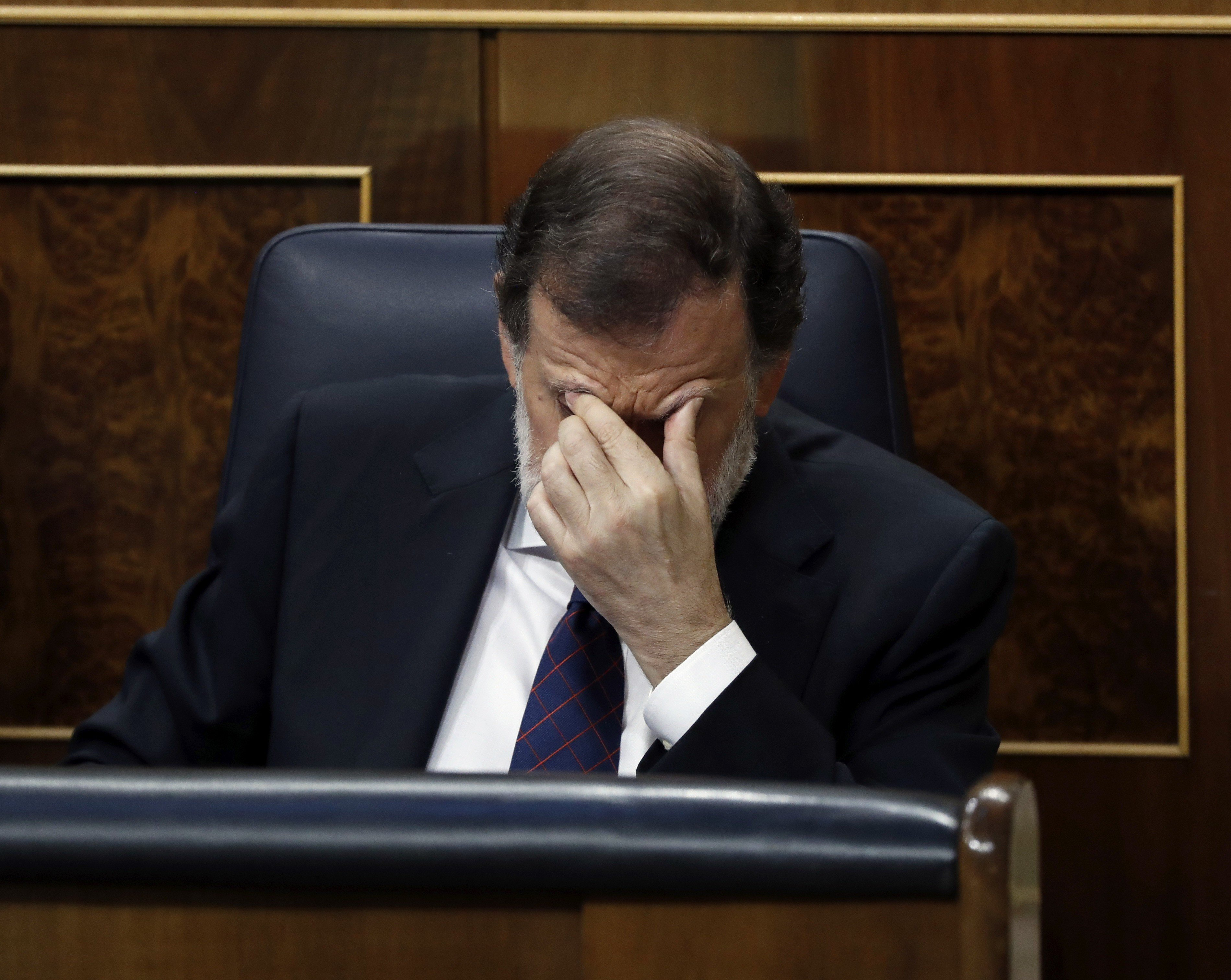 Spanish Congress knocks down motion supporting Rajoy's policy against Catalan referendum