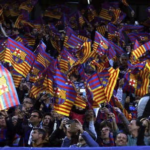 Barça condemns the repression of rights in Catalonia