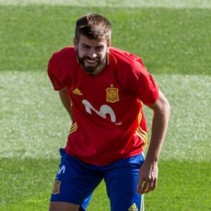 "Piqué: ""The independence movement isn't against Spain"""