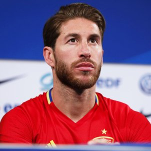 "Sergio Ramos: ""I haven't liked the image Spain has given the world"""