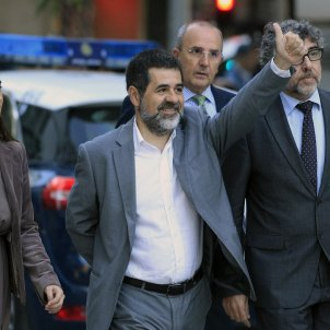 """Sànchez faces up to Llarena: """"You cannot be a judge and a victim"""""""