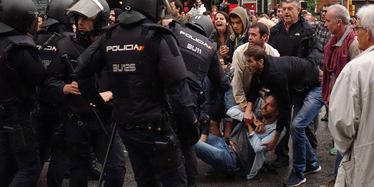 1st October referendum attacks injured 23 people older than 79, two children younger than 11