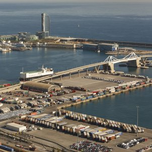 Port of Barcelona records best trimester in its history