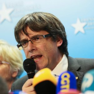 Puigdemont attributes losing European agency to Spain's violence on referendum day