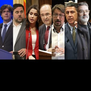 The prohibited survey on the Catalan election: first tracking poll