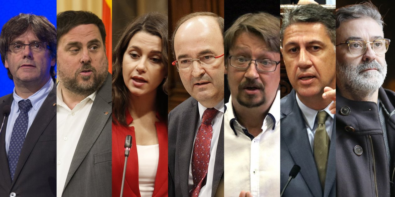 Pro-independence absolute majority threatened by Cs victory in Catalan election poll