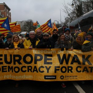 Catalan public media aren't broadcasting the Brussels rally to avoid sanctions