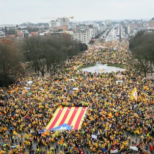 Electoral Commission believes Catalan public TV coverage of Brussels demonstration was excessive