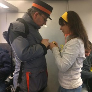 The story of the Brussels train inspector and the yellow loop