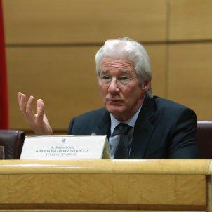 Richard Gere criticises Spain's police repression