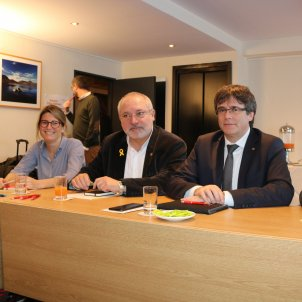 JuntsxCat negotiating with ERC a resolution to recognise Puigdemont
