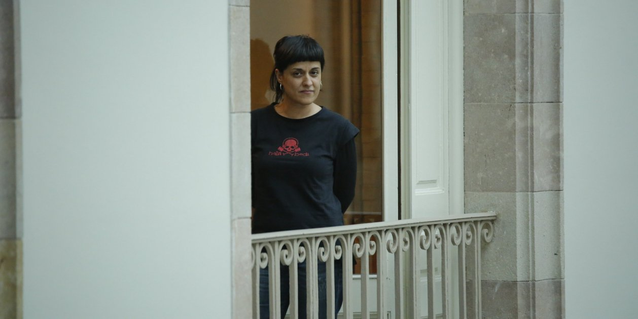 Judge issues arrest warrant for Anna Gabriel in Spain only