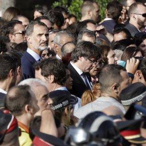 """Barcelona doesn't forgive king Felipe for his """"Go get 'em"""" speech"""
