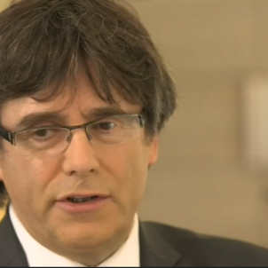 """Puigdemont to Swiss TV: """"Franco nominated the king's father"""""""