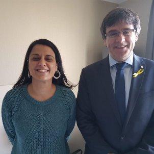 Puigdemont and Gabriel plan internationalisation of the Catalan case in Switzerland