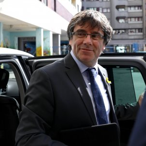 Puigdemont, in Berlin, calls on Spain to change its attitude and negotiate