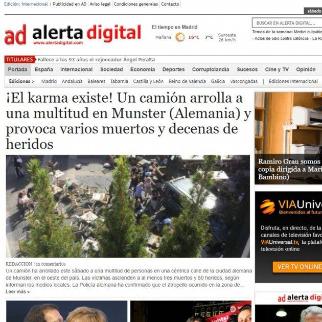 Spanish Unionist Newspaper Attributes Munster Vehicle Attack To Karma