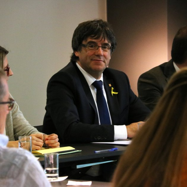 Spanish secret service spying on Puigdemont in Berlin, according to 'Junge Welt'