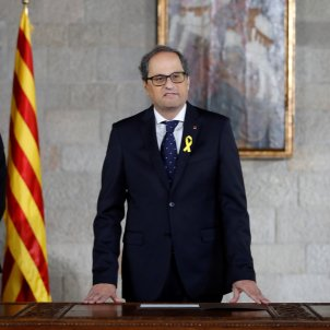 Torra unblocks new Catalan government, replacing ministers in exile and prison with new names