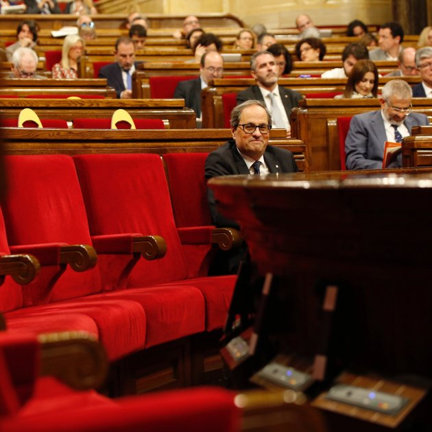 Torra gets legal green light to overcome Rajoy's block of his ministers