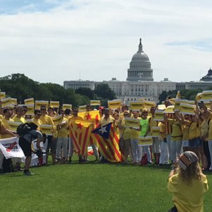 Call to free Catalan political prisoners reaches heart of Washington DC