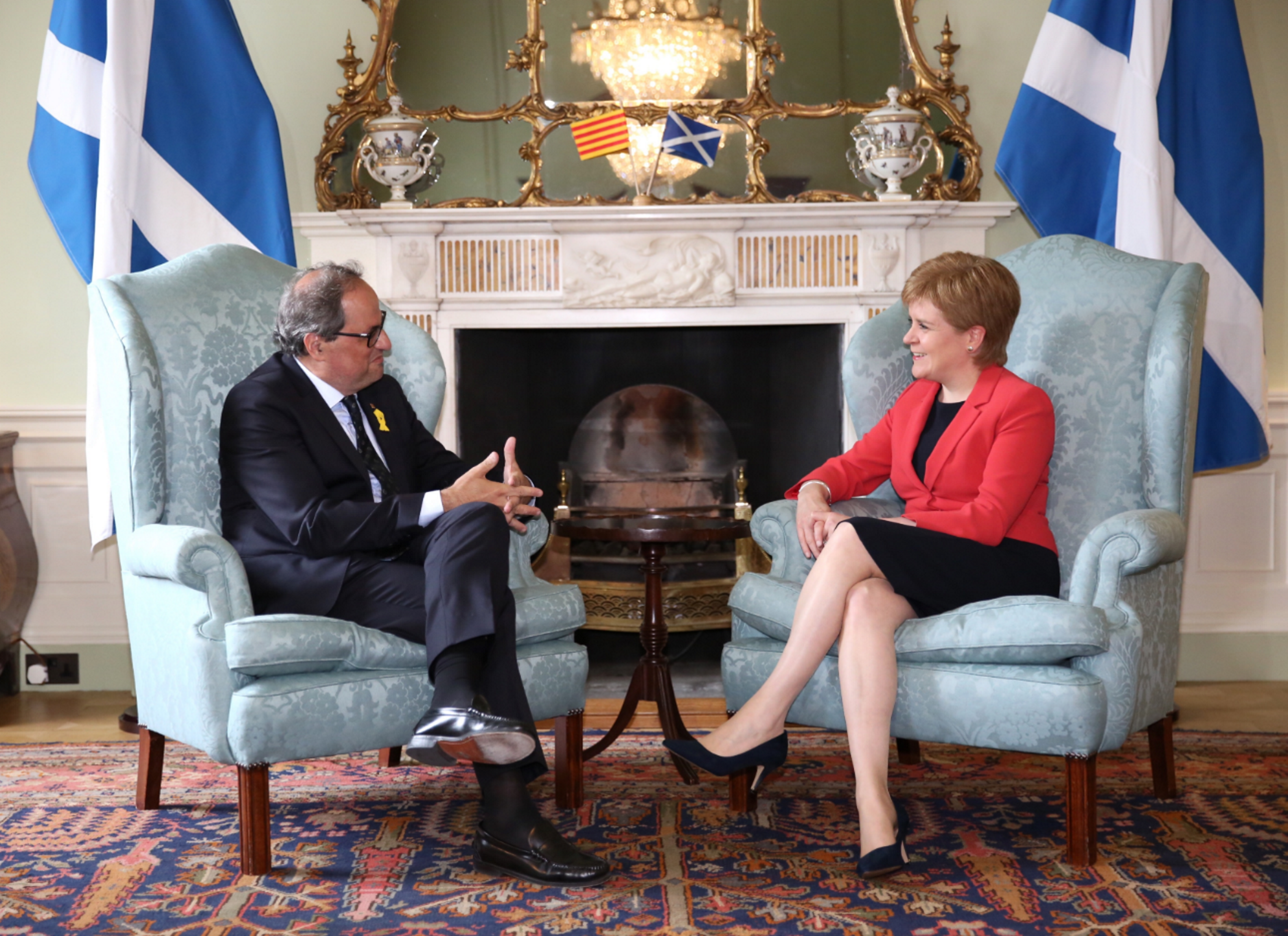 Sturgeon to travel to Barcelona to meet again with Torra