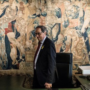 Catalonia's Quim Torra: two months to construct a presidency