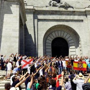 Spain's extreme right comes out in force to protest against Franco's exhumation