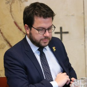"""Aragonès: """"The king's speech protects the attacks against independence supporters"""""""