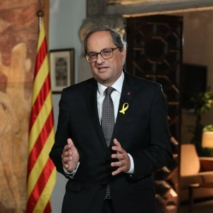 "Torra repeats commitment to realise the republic ""of all Catalans"""