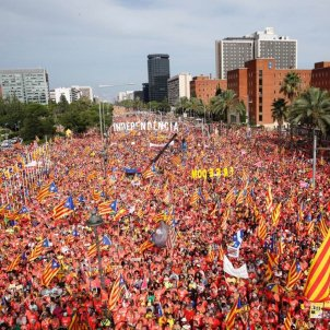 A million people in Catalan independence march, say Barcelona police