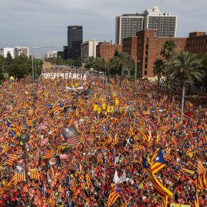 Catalan independence responds to repression with huge march and calls for action