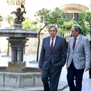 Mexico's Cuauhtémoc Cárdenas gives support to Torra on Catalan prisoners issue
