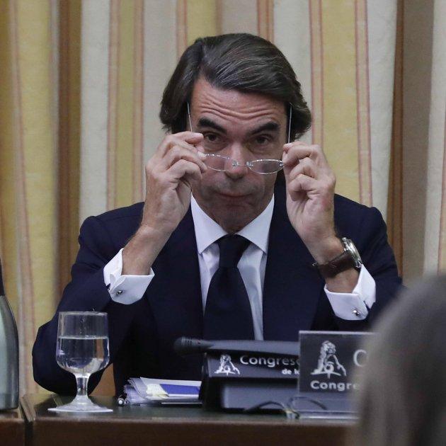 """Former PM Aznar: """"The PP had no slush fund"""""""