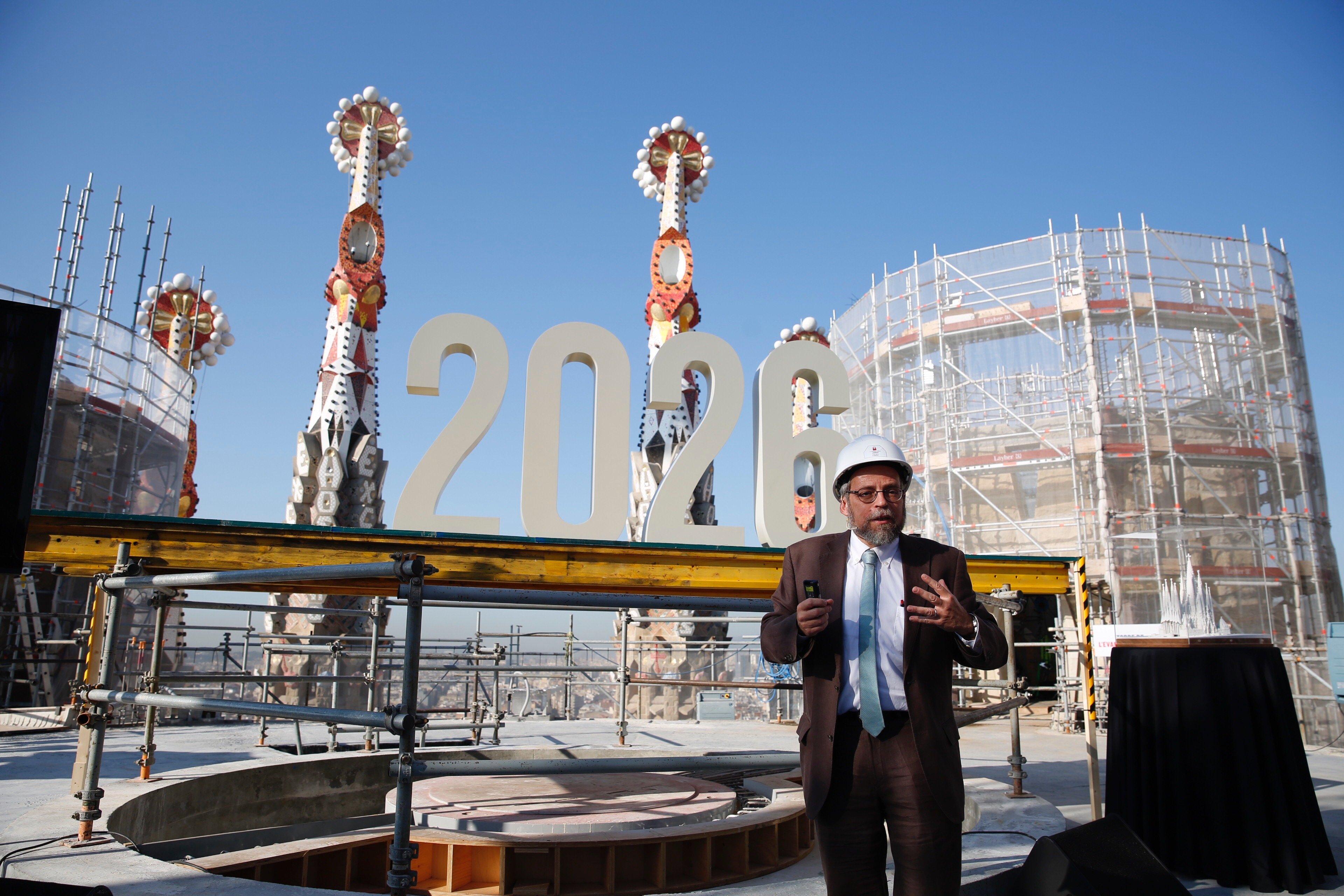 Construction on Barcelona's Sagrada Família enters home stretch