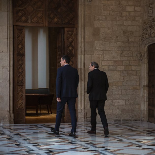 Sánchez and Torra agree to constitute dialogue table on Wednesday 26th
