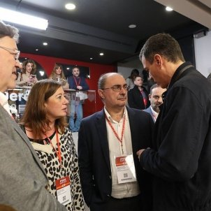 "PSOE regional leaders distrust dialogue with Catalonia: ""Do not reward the disloyal"""