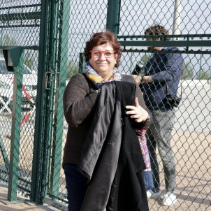 "VIDEO | Political prisoner Dolors Bassa: ""It's not liberty. We continue"""