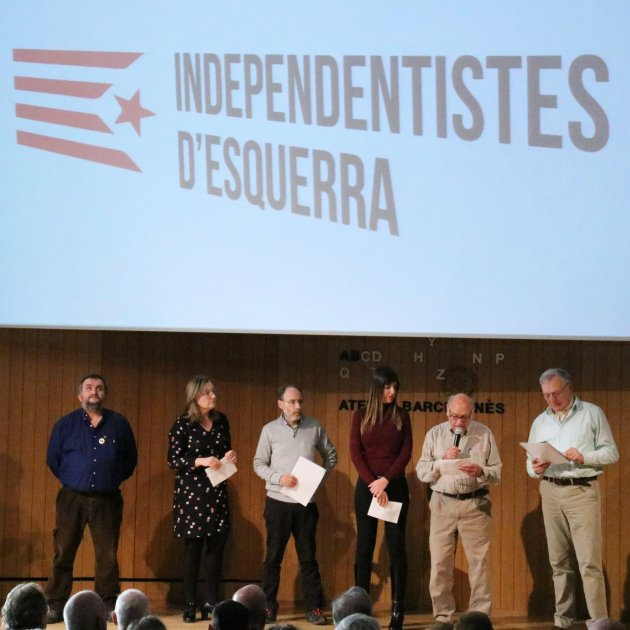 "New pro-independence group for ""strategic unity"": Independentistes d'Esquerra (Left Independentists)"