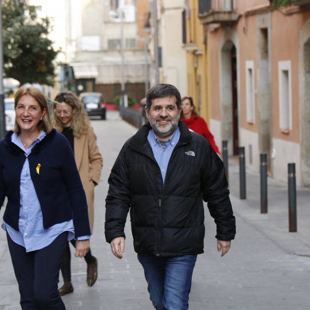 Jordi Sànchez, on volunteer work in Barcelona's Sants district