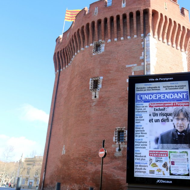 Perpinyà expects more than 70,000 people for Puigdemont event on Saturday