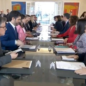 Spanish-Catalan dialogue table postponed without a new date by Sánchez