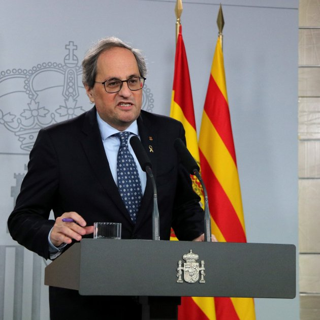 "Torra leaves meeting with ""no clear response"" on any of Catalonia's big questions"