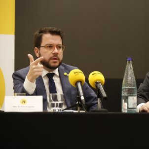 """Aragonès: """"To persuade at the dialogue table, we need majorities at the polls"""""""